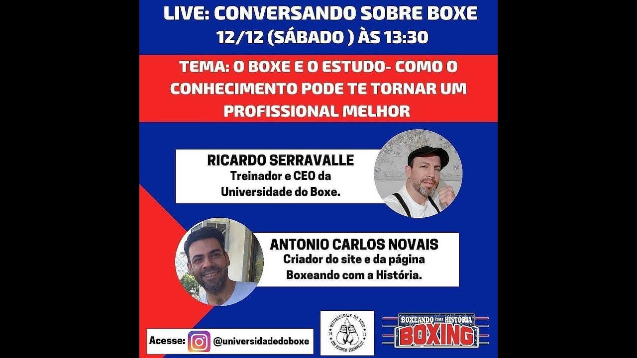 Live: Boxeando com a História