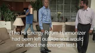 Room Harmonizer delivers energy to everybody in the entire room