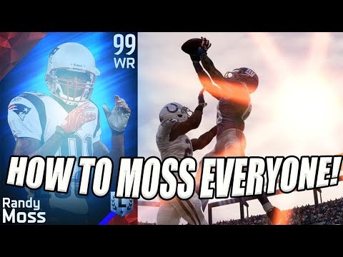 HOW TO MOSS PEOPLE IN MADDEN!
