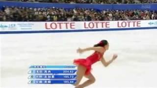 Akiko Suzuki 2009 Japan national FS(no commentary)