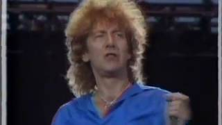 Led Zeppelin - Rock And Roll (LIVE AID 1985)