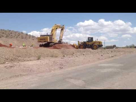 New interstate I-11 Phase 1 Boulder City Bypass, Las Vegas to Phoenix Highway