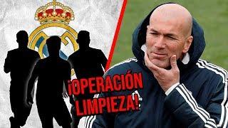 3 Cracks del Real Madrid que entrarían en la operación limpieza de Zidane