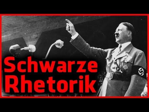 Die schwarze Rhetorik des Adolf Hitler - Reden der Manipulation