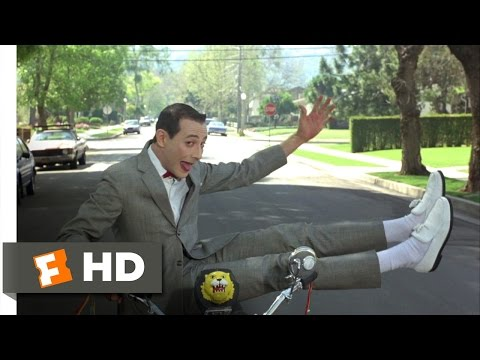 Pee-wee's Big Adventure (3/10) Movie CLIP - I Meant to Do That (1985) HD