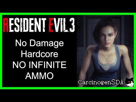 Resident Evil 3 Remake (PC) - No Damage (Hardcore)