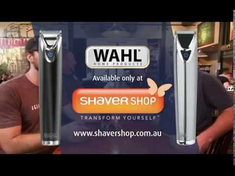 Wahl Stainless Steel Lithium Ion Trimmer