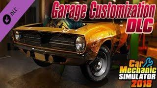 Car Mechanic Simulator 2018: First Look At The Garage Customization DLC