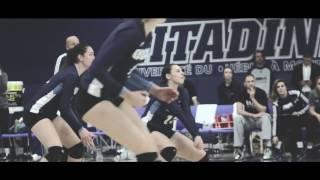UQAM Citadins Volleyball saison 2016-2017