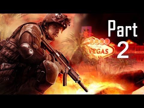 Rainbow Six Vegas 2 Walkthrough Gameplay Part 2 Campaign Mission 2 [ Old Vegas ]