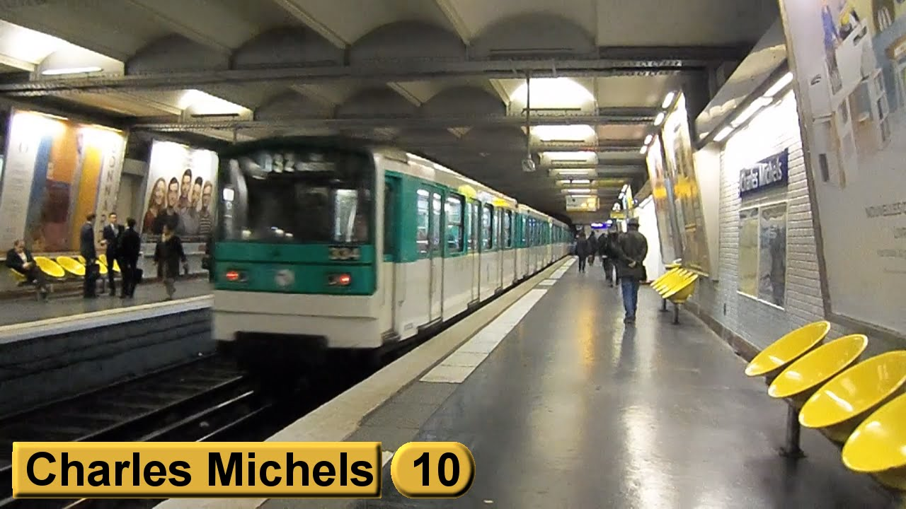 charles michels ligne 10 m tro de paris ratp mf67 youtube. Black Bedroom Furniture Sets. Home Design Ideas