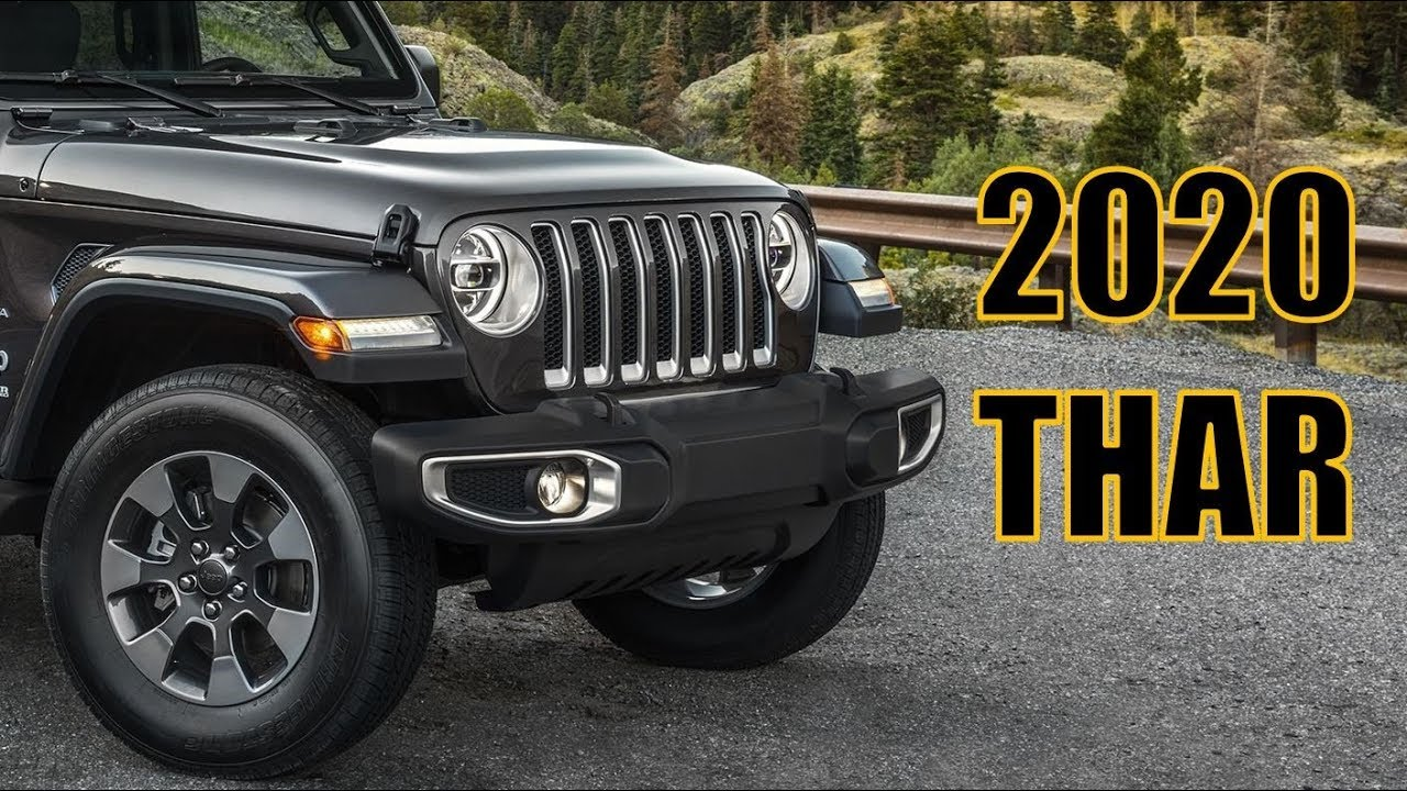 2020 New Mahindra Thar Launch And All Changes 2020 Thar Youtube