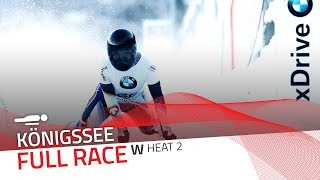KÖnigssee | BMW IBSF World Cup 2017/2018 - Women's Skeleton Heat 2 | IBSF Official