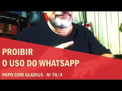 Submissos podem ser proibidos de usar o WhatsApp?