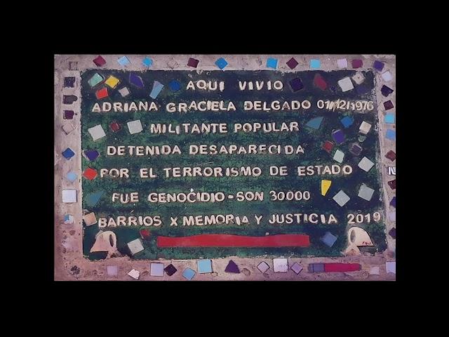 #LosBarriosTienenMemoria 2020 - Mariana Mazover