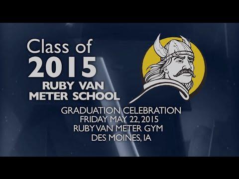Ruby Van Meter School Class of 2015 Comencement