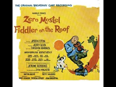 Fiddler On The Roof Full Album Youtube