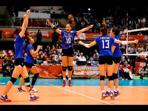 [21-05-2016] Thailand VS S.Korea : Volleyball Olympic : Women's qualification