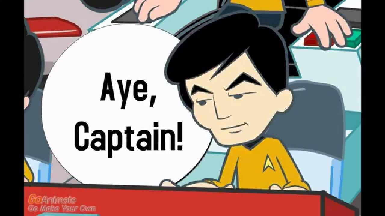 Funny Cartoon On The Adventure Of Lt Sulu - Star Trek -1441