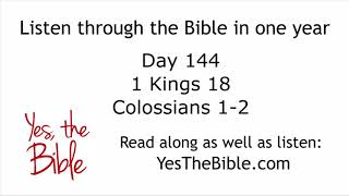 [6.77 MB] Day 144 Listen through the Bible in one year