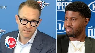 Paul George's trade to the Clippers wasn't mutual - Thunder GM Sam Presti | NBA on ESPN