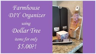 Farmhouse Decor DIY using Dollar Tree items
