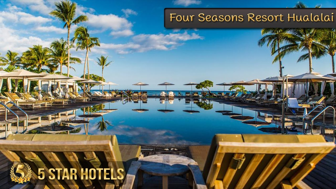 5 Star Four Seasons Resort Hualalai Hotels In Hawaii Beach Usa Review