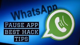 How to pause whatsapp notification|best cool applications.
