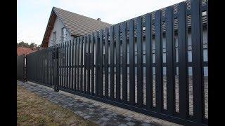 видео Забор из штакетника: еврозабор