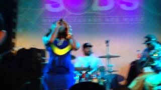 Lil Mo performs
