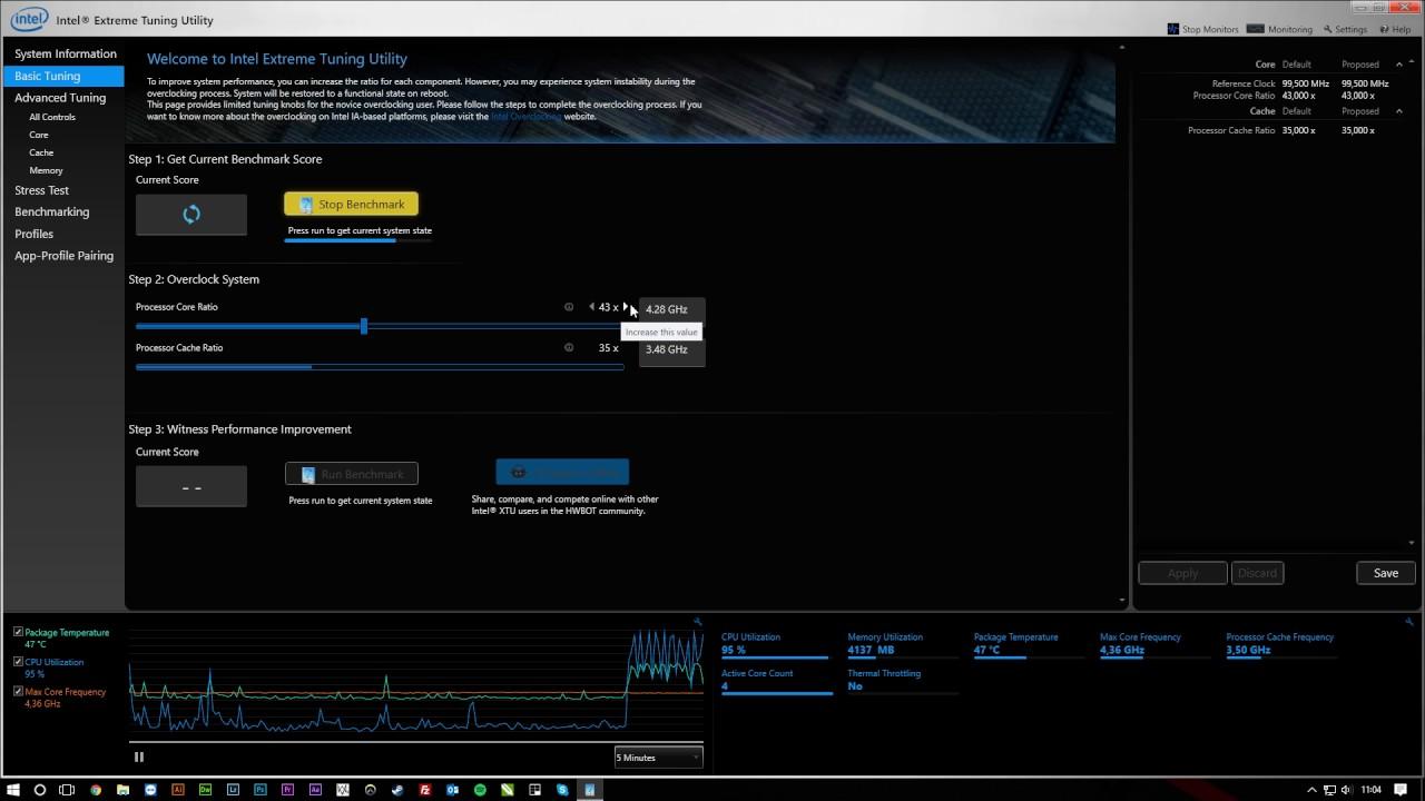 Intel(R) Extreme Tuning Utility - Felipe Neto - YouTube