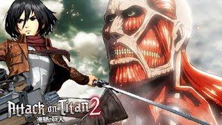 A TITAN FÊMEA VOLTOU! - Attack On Titan 2 (NOVO)