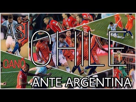Así la Selección Chilena ganó sus dos finales de Copa America !