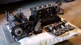 Skill Customs #1 Сборка двигателя Mitsubishi Lancer 9 'Sleeper'