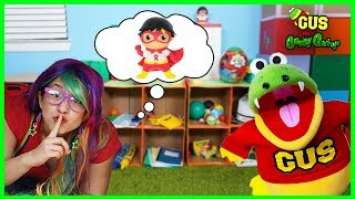 Gus Pretend Play Toy Hunt & Hide and Seek with Ryan's World Toys