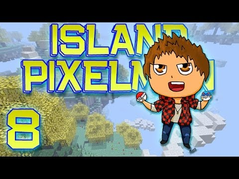 Minecraft: Pixelmon Island Adventure w/Mitch! Ep. 8 - BILLY BOSS FIGHT! (Pokemon Mod)