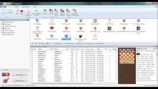 ChessBase 12 Layout