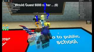 Roblox Would You Rather (mit Musik)