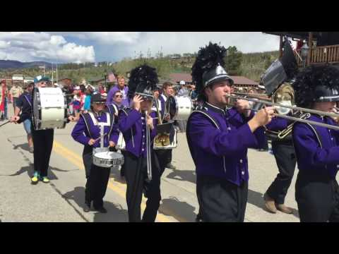 Middle Park High School bands in 2017 Grand Lake Parade