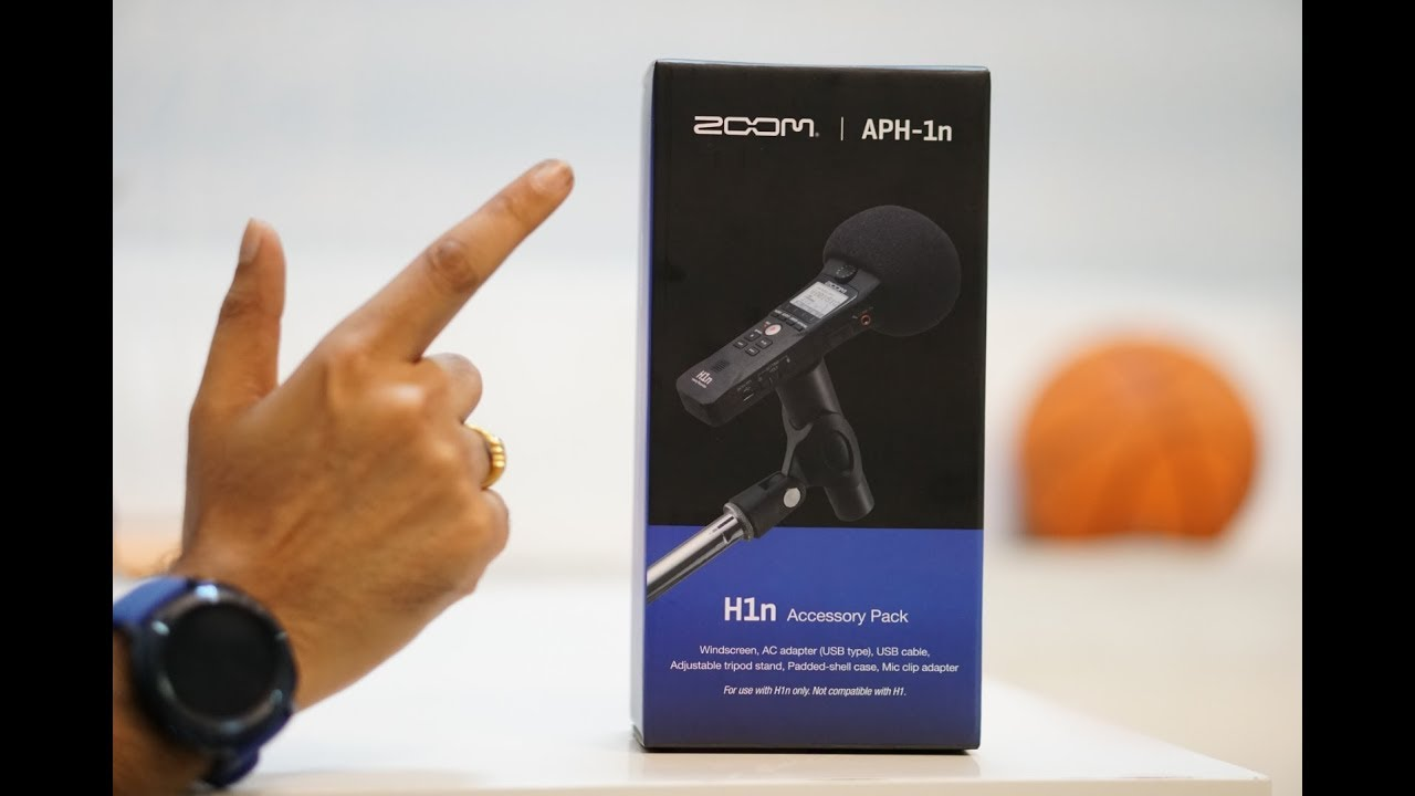 Zoom Aph 1n Accessory Pack Unbox And Review Youtube 1 Package For H1