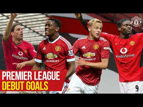 Premier League Debut Goals | Scholes, Rashford, Van De Beek | Manchester United