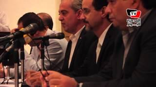 مؤتمر لمهرجان الإسكندرية السينمائي الدولي بالأوبرا
