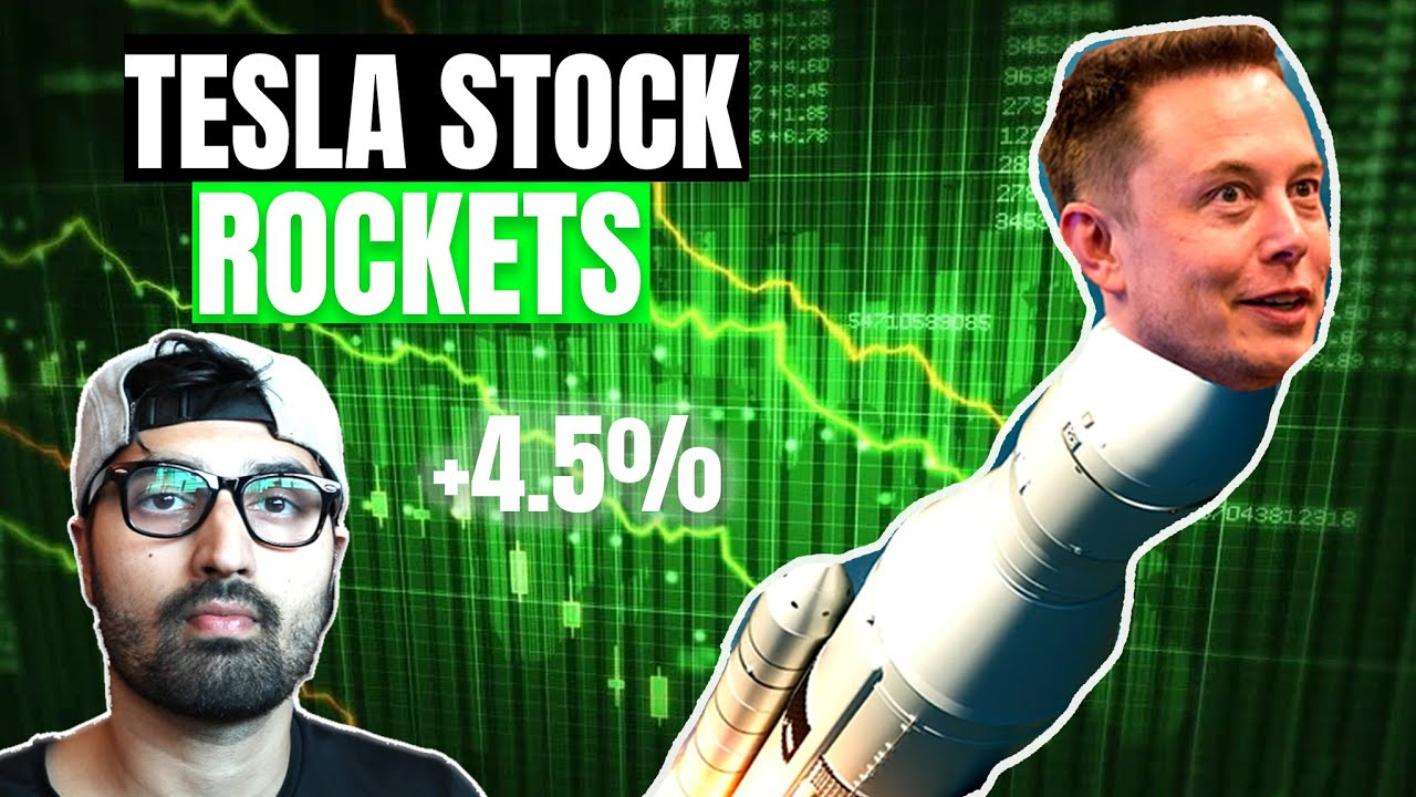 Why Tesla Stock Took Off Today
