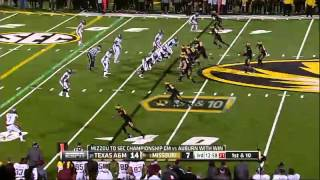 11/30/2013 Texas A&M vs Missouri Football Highlights