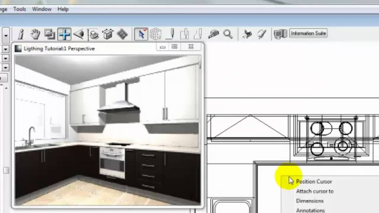Fusion lighting tutorial part 1 youtube - Kitchen design tutorial ...