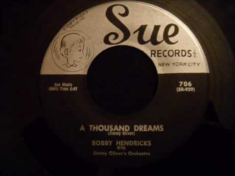 Bobby Hendricks and The Coasters - A Thousand Dreams - Fantastic Soul / Doo Wop Ballad