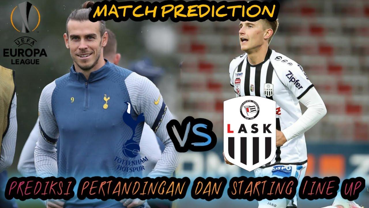 Prediksi Tottenham Vs Lask Matchday 1 Grup J Uefa Europa League 2020 21 Live Champions Tv 1 Youtube