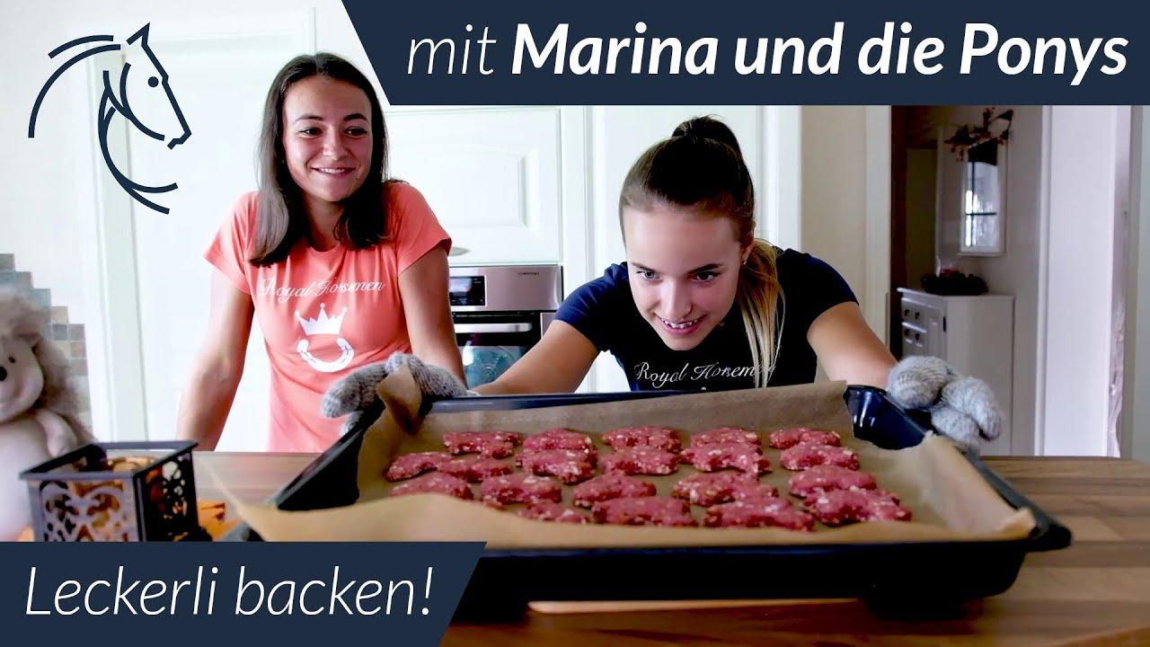Leckerli Backen Leicht Gemacht Mit Marina Und Die Ponys Youtube