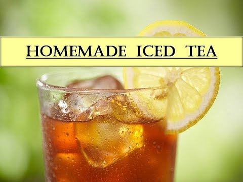 How To Make Iced Tea | Easy Way | Channel M