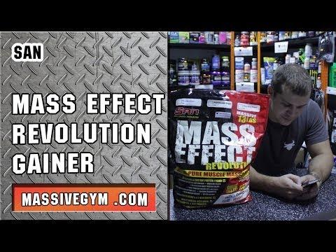 MG Обзор - Гейнер Mass Effect Revolution (SAN) - MassiveGym.com